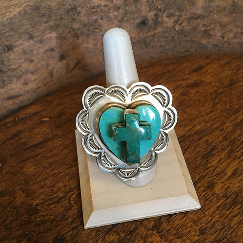Dean Sandoval Turquoise Ring