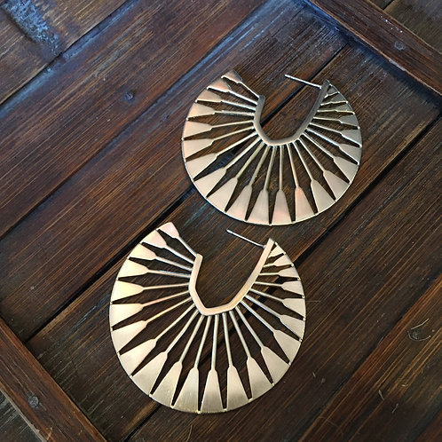Kendra Scott Metal Hoop Earrings