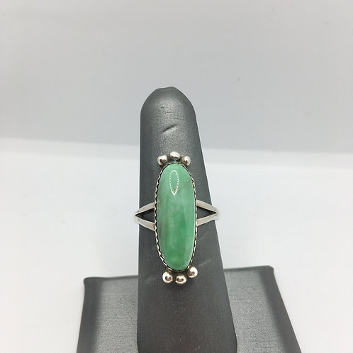 """Yazzie"" Turquoise Ring"