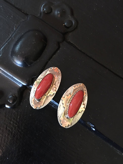 Dan Jackson Native American Earrings