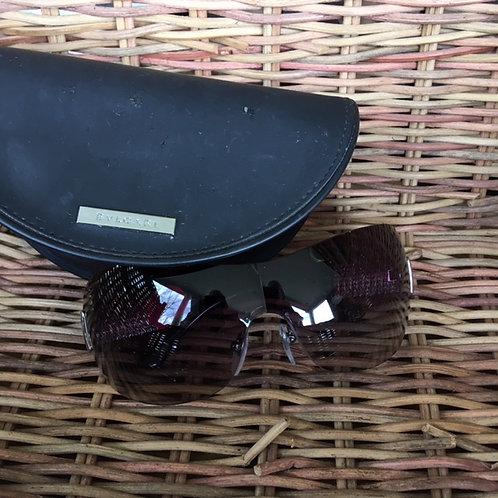Bulgari Sunglasses with Rhinestone Trim