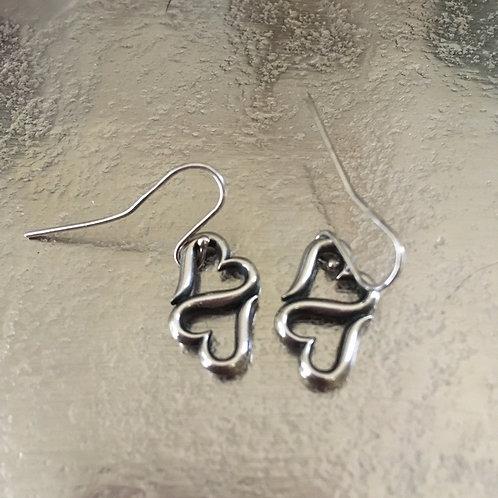 "James Avery ""Heart to Heart"" Earrings"