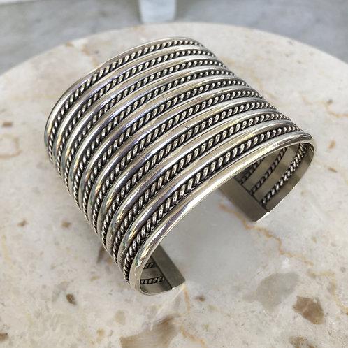 Navajo Wide Cuff Bracelet