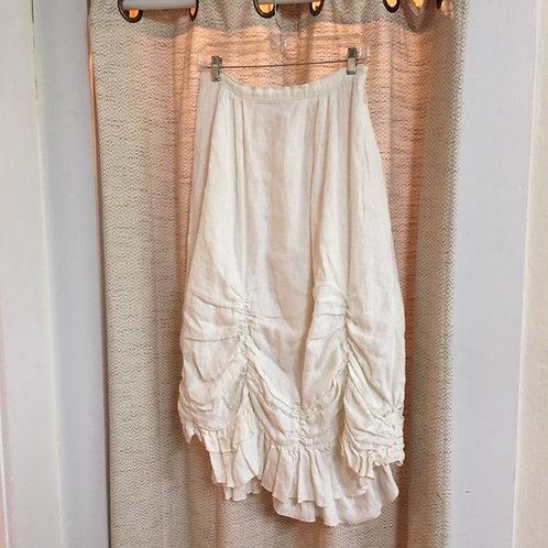 Magnolia Pearl [Rare] IvoryLinen Skirt