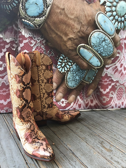 Lucchese Classics:Snake Skin Boot