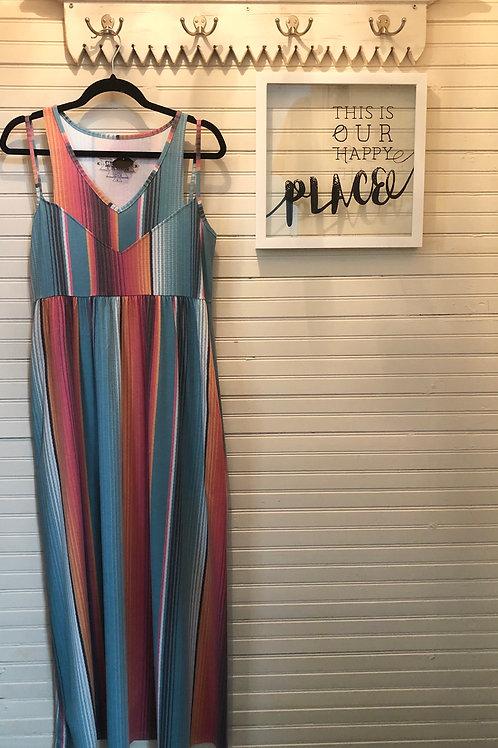 Crazy Train: Striped Dress + Pockets!