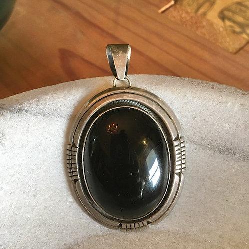 Navajo Onyx Pendant