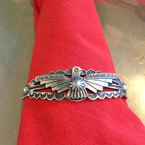 Old Trading Post Single Thunderbird Bracelet