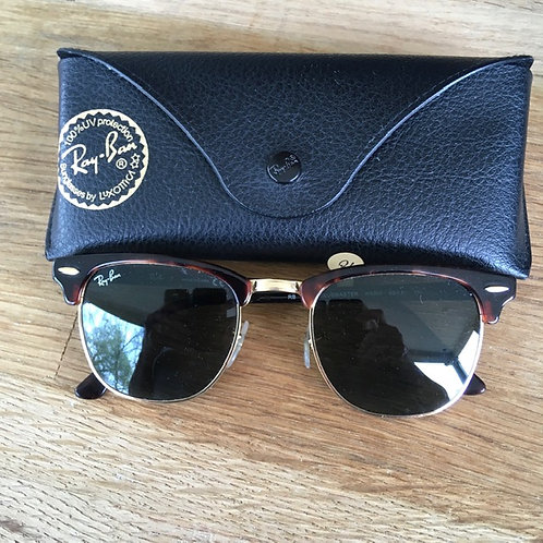 Ray Ban Tortoise Shell Sunglasses with Case