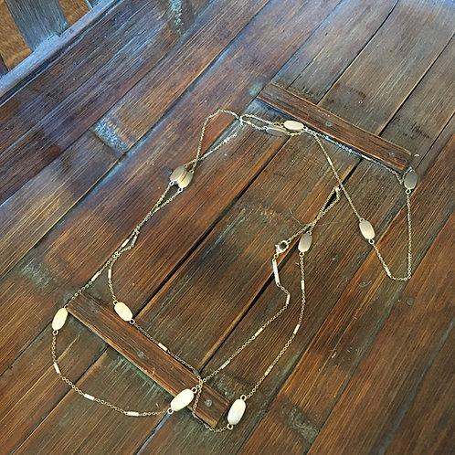 Kendra Scott Brushed Gold Necklace