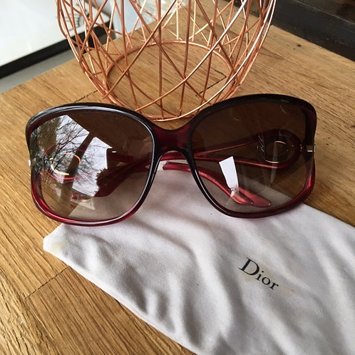 Christian Dior Brown/Pink Sunglasses