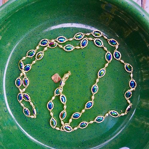 Kendra Scott Iridescent Stone Necklace