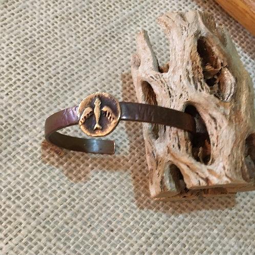 Crow Heart petite bracelet