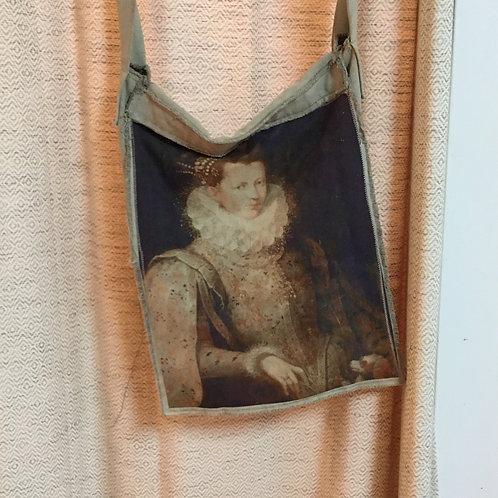 Magnolia Pearl Canvas Art Satchel