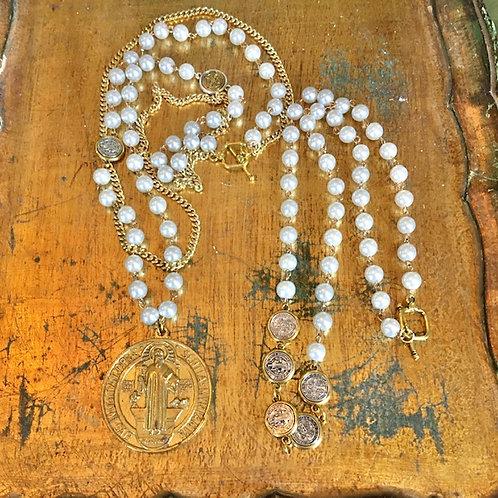 Michael Gabriel: Set of Two Necklaces