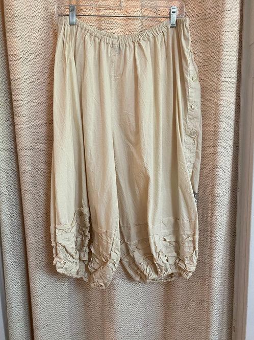 Magnolia Pearl Cotton Cream Pant