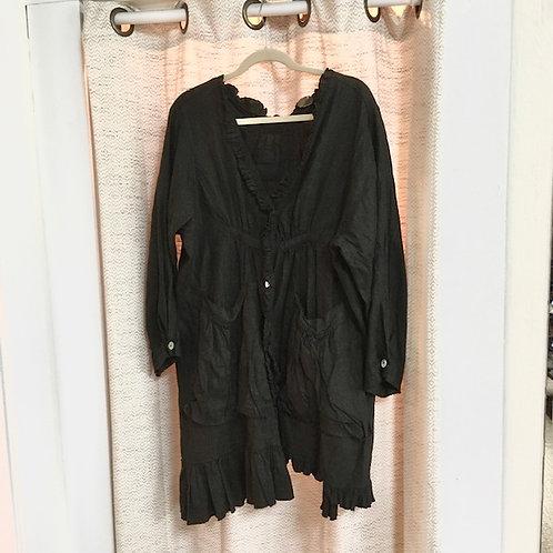 Magnolia Pearl [Rare] Black Linen Jacket
