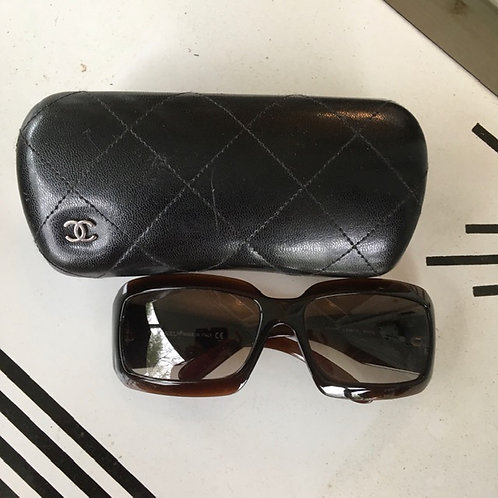 Chanel Rectangular Sunglasses with Case