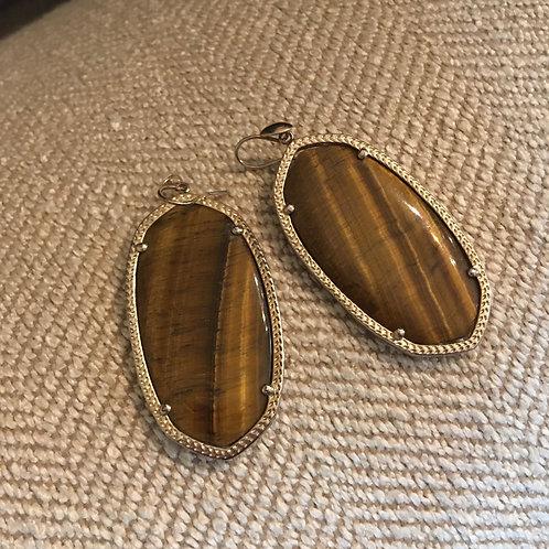 Kendra Scott Agate Earrings