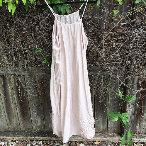 "Magnolia Pearl ""Audrey"" Silk+Cotton Slip Dress"