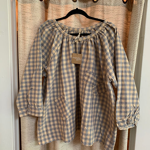 "Magnolia Pearl ""Original Collection"" French Cotton Checked Top"