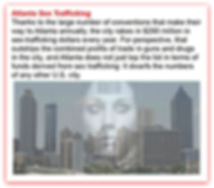 Atlanta sex trafficking with transparenc