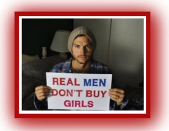 Ashton Kutcher picture - real men don't