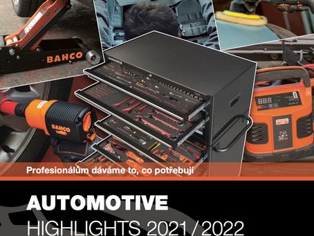 Nový akční katalog BAHCO Automotive 2021/2022