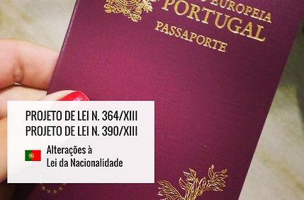 Alterações à Lei de Nacionalidade portuguesa