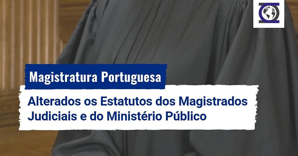 Alterações ao Estatuto dos Magistrados Judiciais