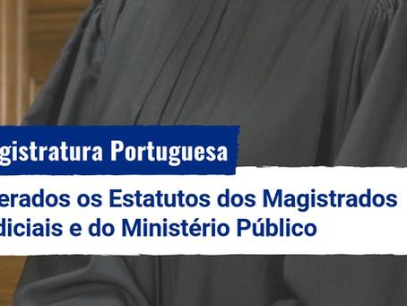 Magistratura Portuguesa: alterados os Estatutos dos Magistrados Judiciais e do MP