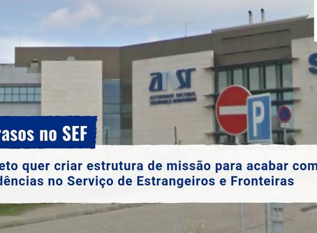 Atrasos no SEF: projeto quer acabar com pendências até ao fim de 2019