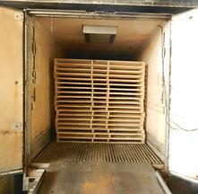Pallets for export, wooden palelts for export, Heat-treat, heat treating, heat treat, export, ISPM 15, wood packaging material for export, WPM for export