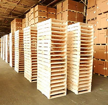 inventory services, wooden pallets, corrugated boxes