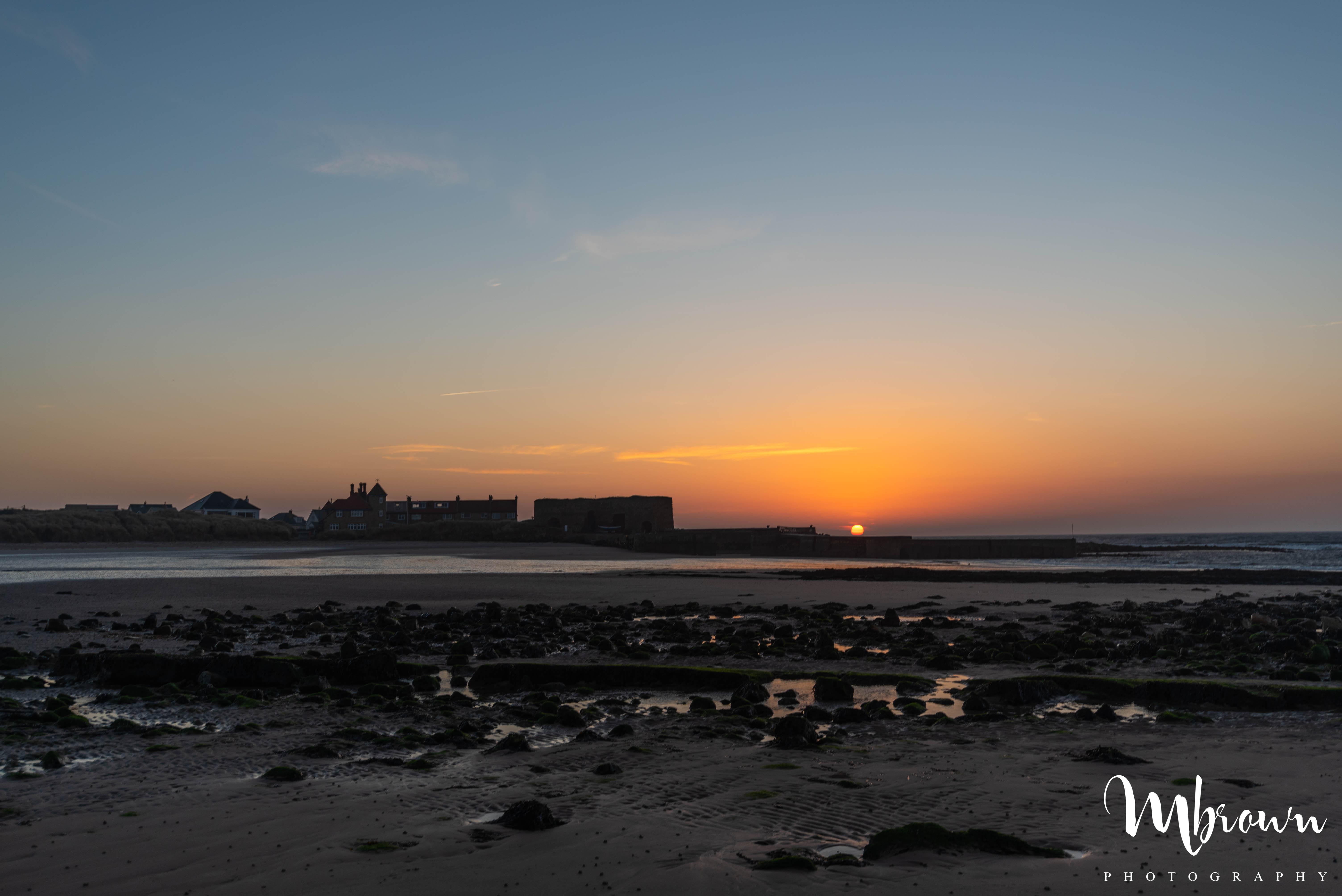 Beadnell Beach at Sunrise