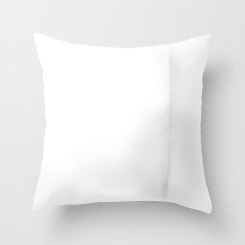 Deer design throw pillow cover