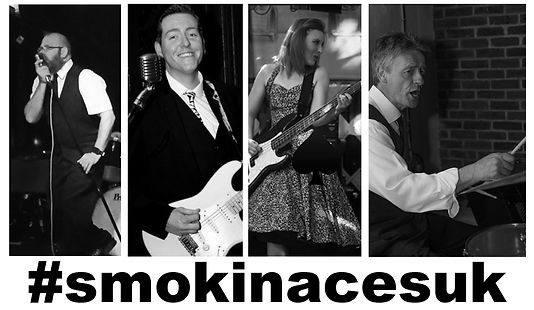 smokin aces dreamboats & petticoats vintage 50s rock n roll wedding party events band kent uk
