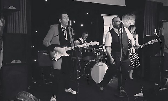 smokin aces live vintage rock n roll wedding band kent