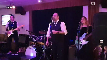 smokin aces vintage rock n roll wedding party event band