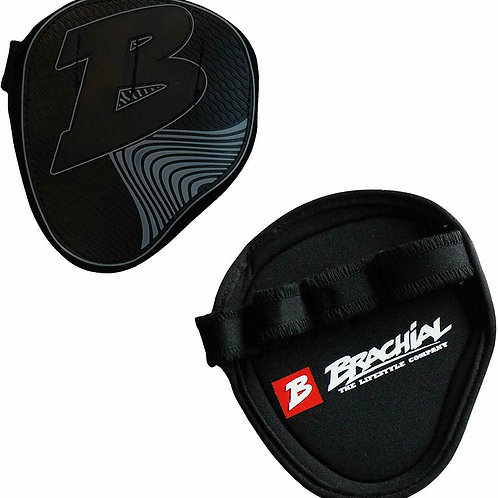Brachial Grips Classic - Hand Protection for Bodybuilding and Fitness - Black