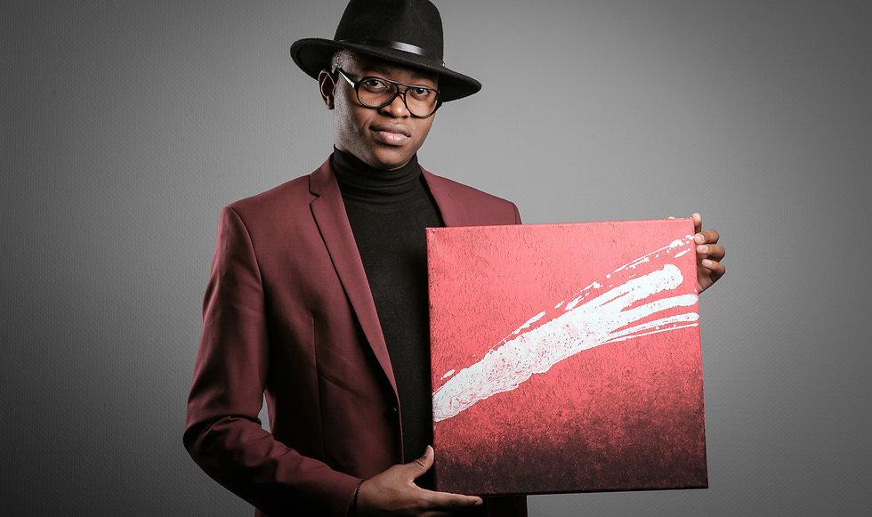 Eric Maseko photographié par James Bihouise® droit d'auteur