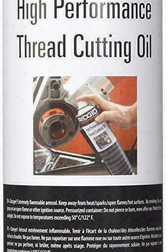 Ridgid 15681 High Performance Thread Cutting Spray Oil - 600ml