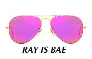 Sunnies by Ray-Ban. Clever copy by Fashion Copy House