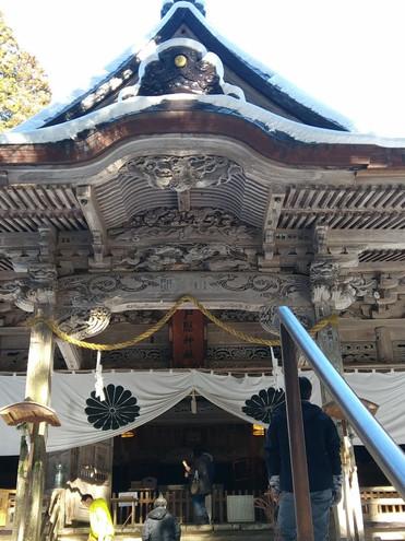戸隠神社宝光社社殿