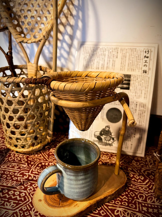 戸隠根曲がり竹の竹細工製品