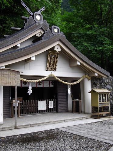 戸隠神社奥社社殿