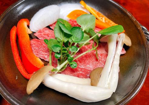 信州プレミアム牛の焼肉