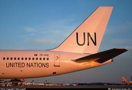 U.N. Boeing B-757