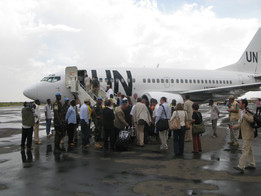 U.N. Boeing B-737