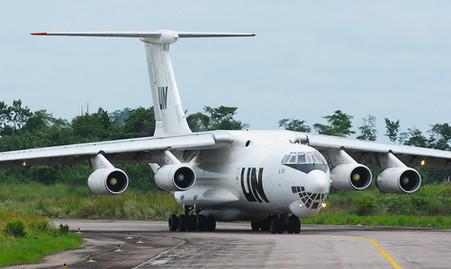 U.N. Ilyushin IL-76T